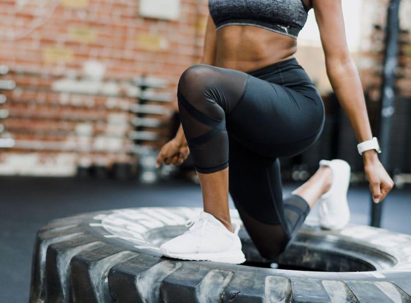 Détermination du muscle et de la masse grasse sur les cinq segments du corps par diagnofit
